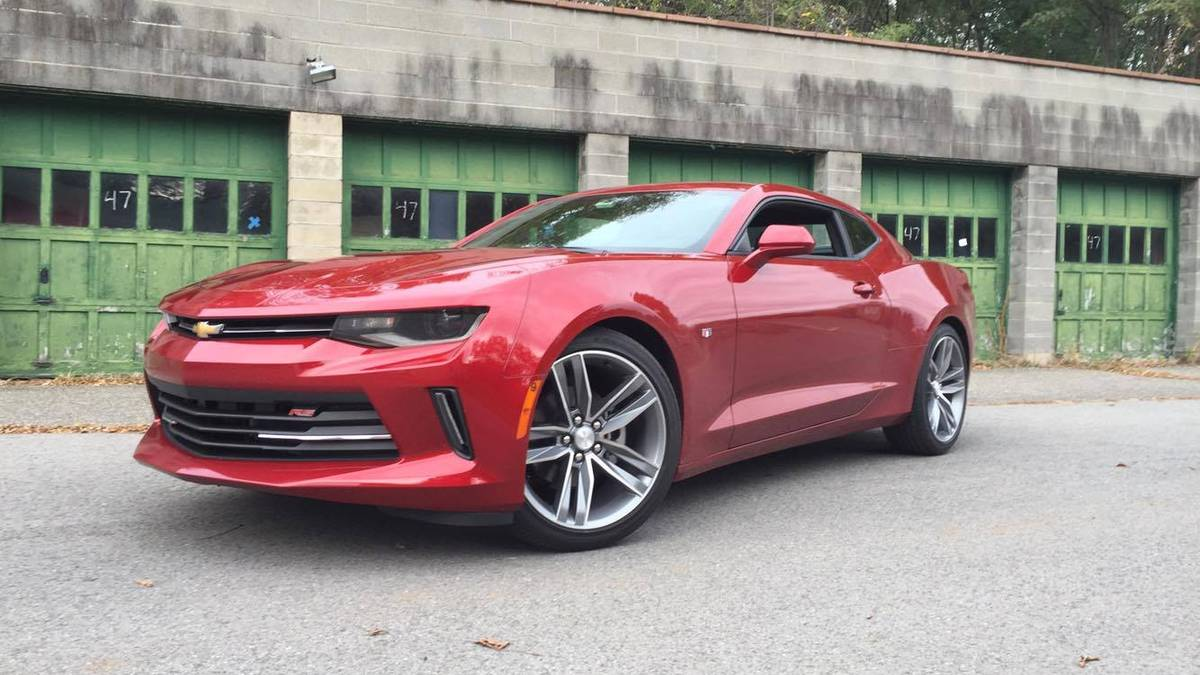2016 Chevy Camaro is the V6-powered highway cruiser we didn't expect to love