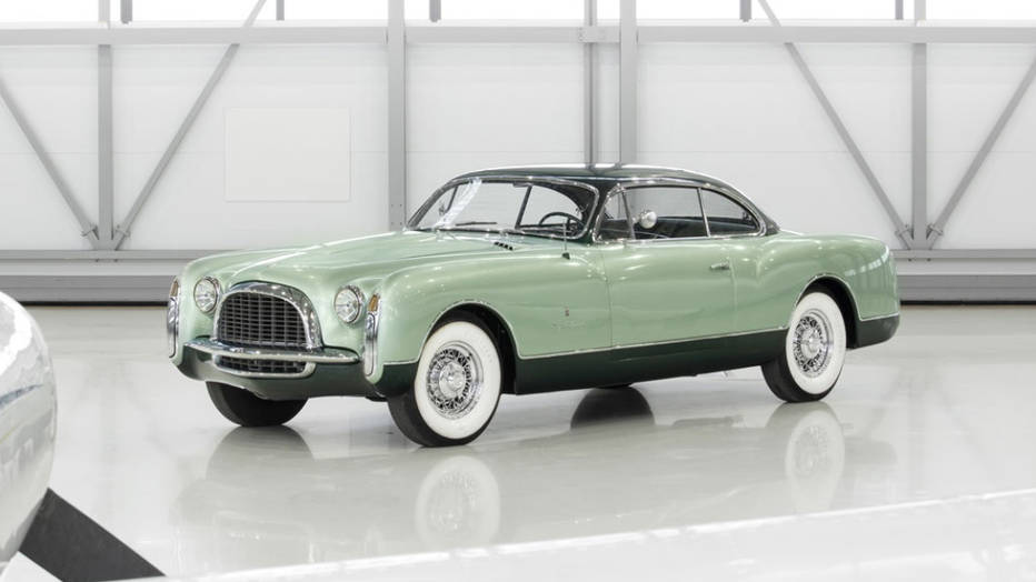 Rare Chrysler Special Coupe by Ghia heads to auction